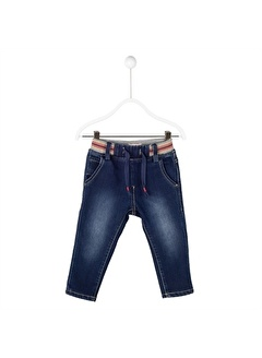 Silversun Kids Koyu Bel Lastikli Cepli Pi Büzmeli Bebek Erkek Pantolon Pc 114643